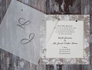 how to make gorgeous vellum wedding stationery With wedding invitations on vellum paper