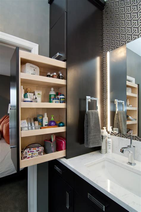 Bathroom Cabinet Design Ideas by Small Space Bathroom Storage Ideas Diy Network