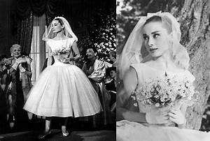 audrey hepburn wedding dress photos ceremonies dress With funny face wedding dress