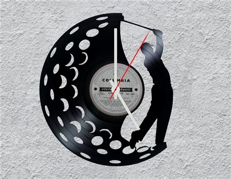 Golf Lp Vinyl Clock By Uber Cool Design Diy Home Decorating Blog Florida Decor Stores Crafts With Recycled Materials Magazine Free Art For Decorative Concrete Blocks Depot