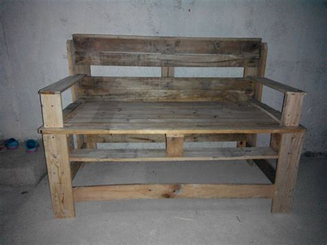 wooden pallet bench diy easy pallet ideas
