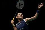 Christie records second surprise win to reach BWF Malaysia ...