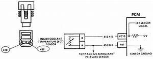 Engine Coolant Temperature Sensor Circuit Diagram