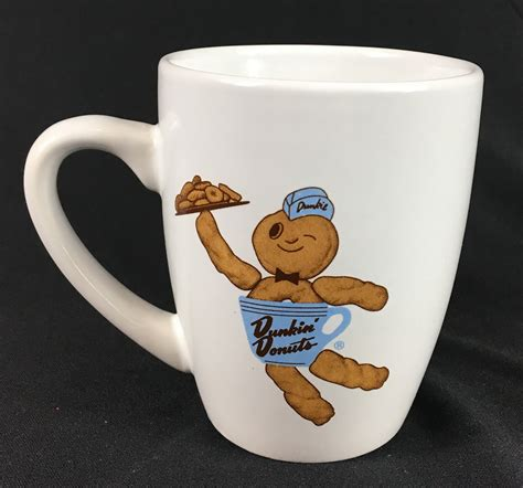 Our partnership with uber eats and deliveroo means your favourites delivered straight to your door! Dunkin Donuts Dunkie Man Coffee Mug 2010 - Larry's Basement