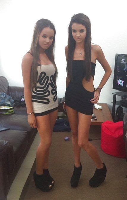 Teen Girls Short Tight Dress Skirt High Heels Sexy Erotic