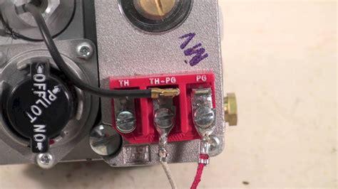 gas millivolt wiring