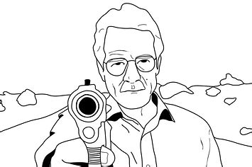 breaking bad coloring book