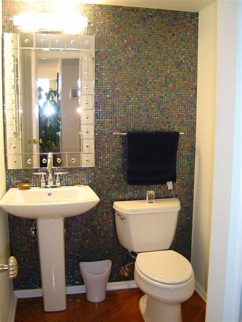 litwin powder room remodel denver  schuster design