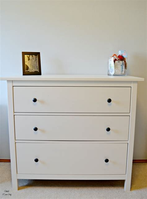 Ikea Nyvoll Dresser Grey by Getting Our Nursery Set Up With Ikea Simply Darr