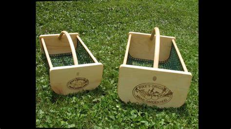 Gift Ideas For Gardeners. Pike's Original Garden Hod