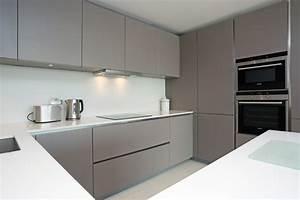 Basalt Grey kitchen finish - Modern - Kitchen - London