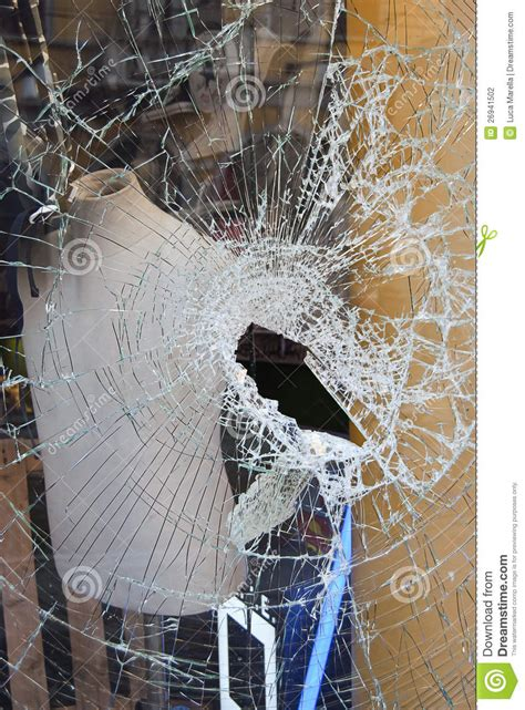 vandalism stock photo image  effect damage crack