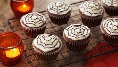 recette cupcakes spider dhalloween