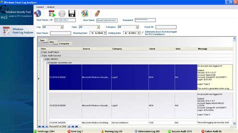 Windows Event Log Analyzer