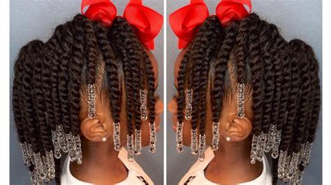 Two-strand Twist Pony Hawk W/beads