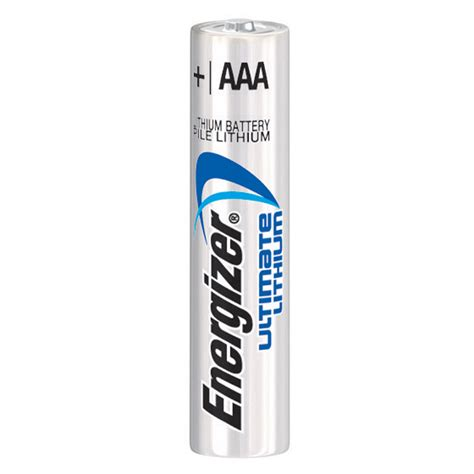 Energizer Ultimate AAA Lithium Batteries (4 Pack