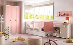 chambre bebe fille avec un lit jumeaux evolutif glicerio With déco chambre bébé pas cher avec livraison roses Á domicile