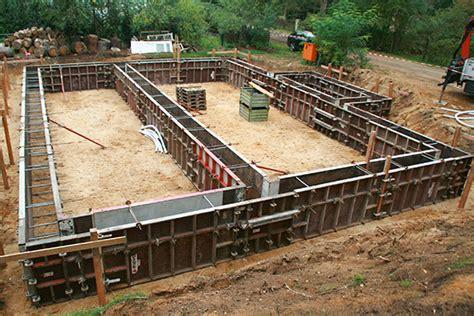 fundamentschalung ws schalungs und betontechnik