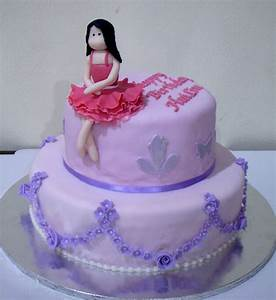simple stylish girl birthday cake - Adworks.Pk : Adworks.Pk