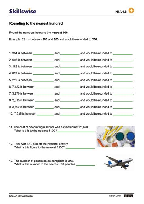Rounding To The Nearest Hundred Worksheets Worksheets For All  Download And Share Worksheets