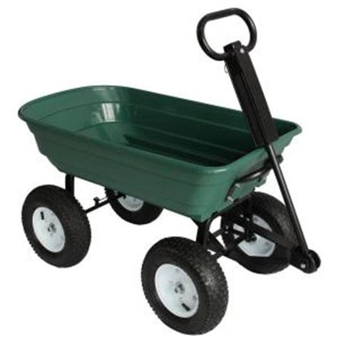 depot wagon sandusky 5 cu ft 22 in w utility cart cw4622 the home Home