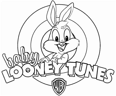 baby looney tunes coloring pages looney tunes coloring pages