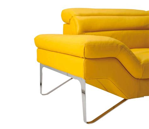 Top Grain Leather Sectional Sofas by Modern Yellow Sectional Sofa Vg 4 Leather Sectionals