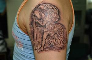 Aquarius Tattoos Designs, Ideas and Meaning   Tattoos For You