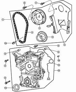 Dodge Magnum Cover  Timing Case  Includes Gasket  Bushing