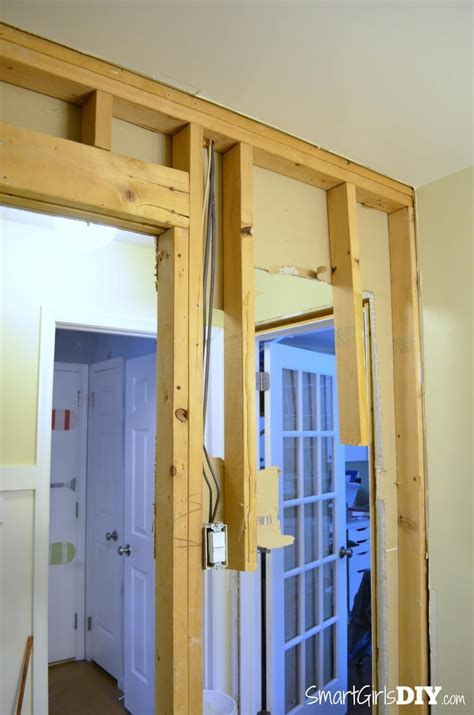 ideas   install pocket door rough opening
