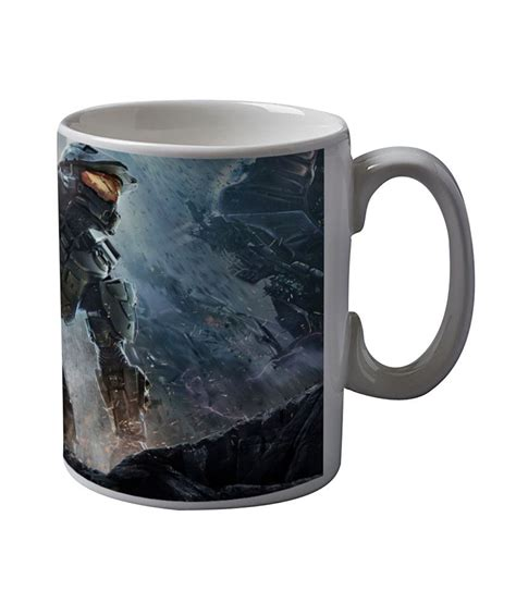 Why to shop coffee mug from woodenstreet? Artifa Halo 4 Game Coffee Mug: Buy Online at Best Price in India - Snapdeal