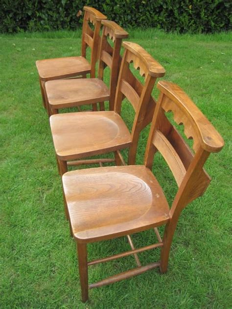 Used Kitchen Furniture For Sale by 163 65 Reclaimed Antique Church Chairs Church Used