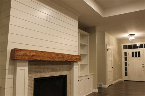 Shiplap Fireplace by Farmhouse Kitchen Style At Valley Cabinets