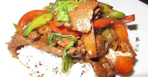 cours de cuisine rabat tous food 39 elles boeuf sauté au basilic thaï