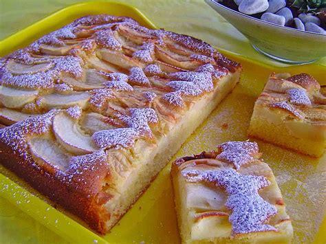 Apfelkuchen Schnell Und Fein (rezept Mit Bild) Von Meusle