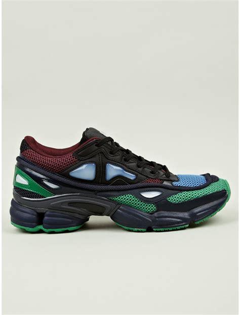 adidas  raf simons ozweego  sneakers  green  men multicolour lyst