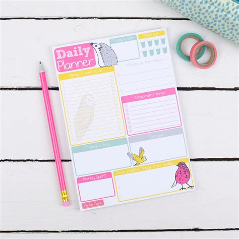 i who has template to do list notepad to do list template