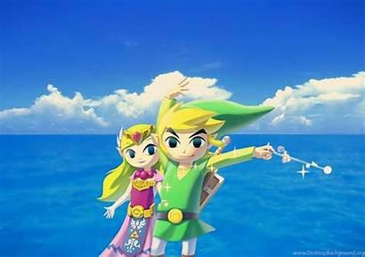 Waker Zelda Legend Wind Wallpapers Desktop Background