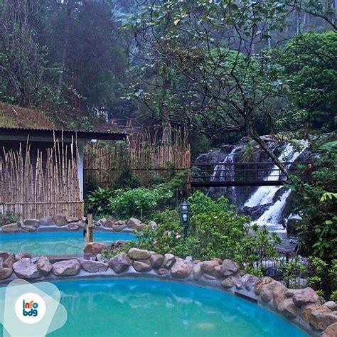 wisata terapi sehat  kolam air panas mengandung