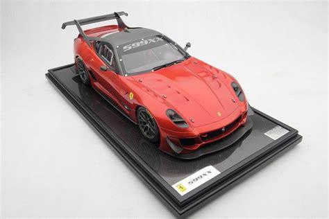 Coupled with the added power and a shorter final gear ratio, the 599xx evo can lap fiorano in 1:15. Collector Studio - Fine Automotive Memorabilia - 1/8 2012 Ferrari 599XX / 599XX Evo