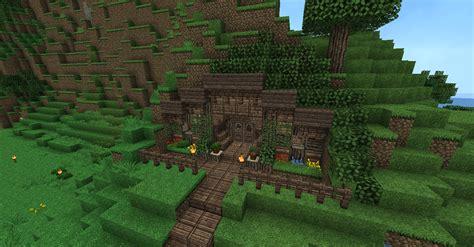 minecraft hobbit hole  blueprints layer  leyer