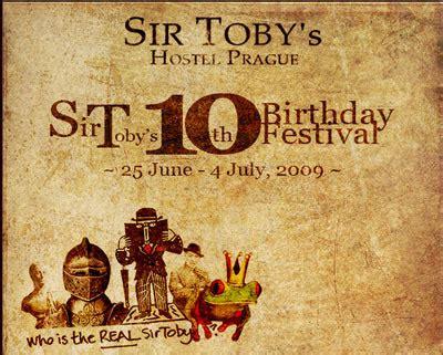 Sir Tobys Hostel Celebrates Infohostels