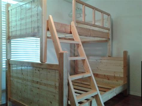 Custom Bunk Bed, Pottery Barn Style By Treasure Valley