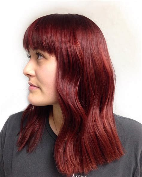 ruby hair color 50 stunning hair color ideas bright yet
