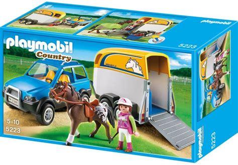 siege auto a partir de 6 mois cheval country voiture avec et cheval playmobil le