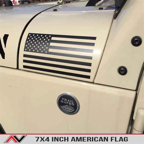 jeep cherokee american flag american flag large alphavinyl