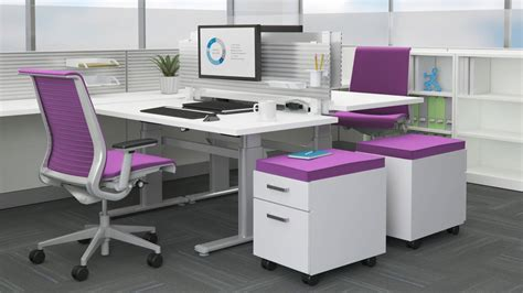 auto height adjustable desk series 5 electric office table workstation steelcase