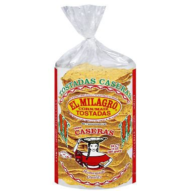 El Milagro Corn Tostada (14 oz., 24 ct.) - Sam's Club