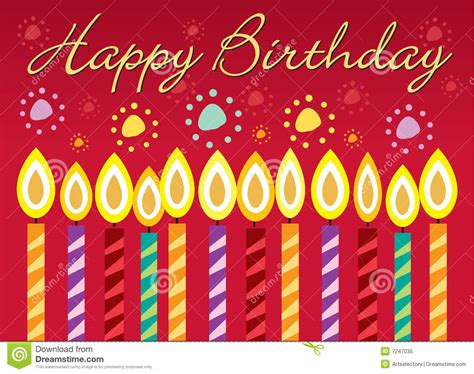 Birthday Card Photo by Birthday Card Stock Vector Illustration Of Float Happy
