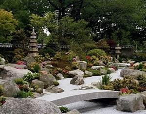 Japanischer Garten Pflanzen : japanischer garten garten gartengestaltung gartenideen stein steinboden pflanzen gr n ~ Markanthonyermac.com Haus und Dekorationen